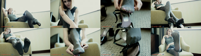 Sexy legs and pretty feet