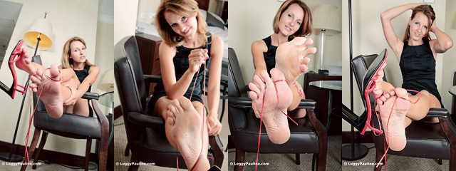 Sexy legs, sexy bare feet